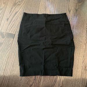 Pencil skirt, black size large